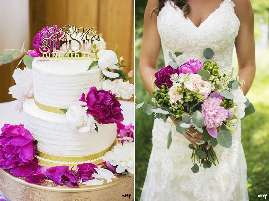 Wedding Cake | Ali and Joe's #gardenwedding by amanda.matilda.photography | Colorado Wedding Photographer