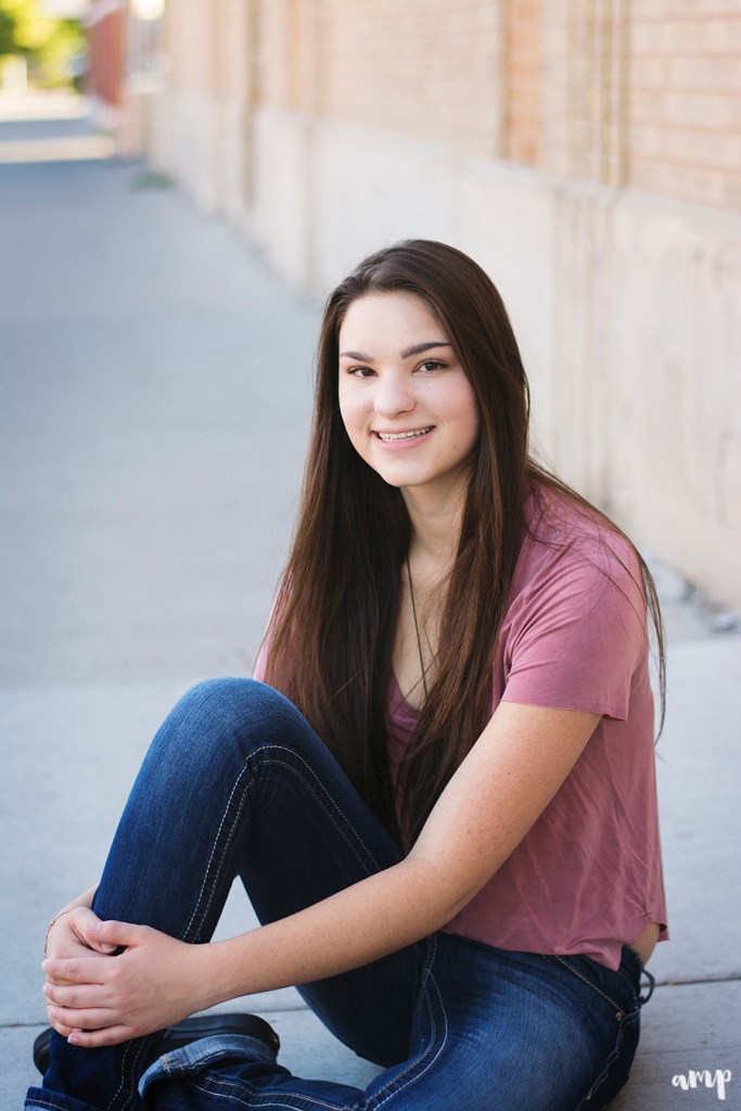 Downtown Grand Junction senior photos
