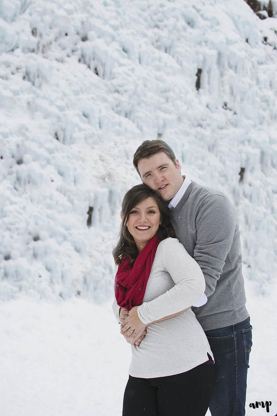 Ouray Ice Park Engagement Session | amanda.matilda.photography