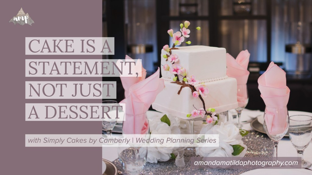 Cake is a Statement, Not Just a Dessert by Simply Cakes by Camberly | amanda.matilda.photography
