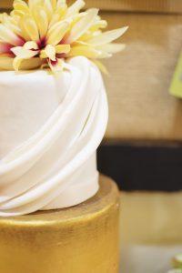 Metallic Cake | Simply Cakes by Camberly (photo by amanda.matilda.photography)