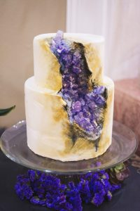 Geode Cake | Simply Cakes by Camberly (photo by amanda.matilda.photography)