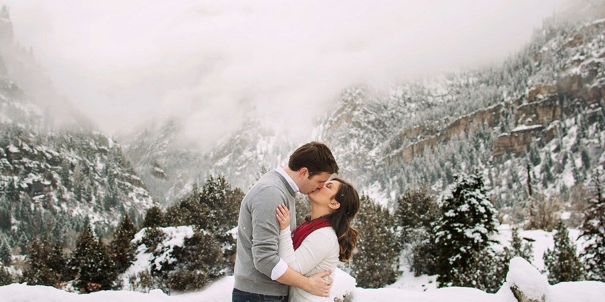 Ouray Ice Park | Winter Engagement Photographer