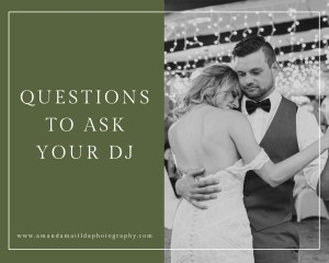 Remember These Questions to Ask Your DJ | amanda.matilda.photography Grand Junction wedding photographer