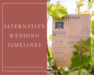 Alternative Wedding Timelines | amanda.matilda.photography