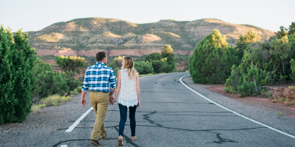 Grand Junction engagement session at Colorado National Monument | amanda.matilda.photography