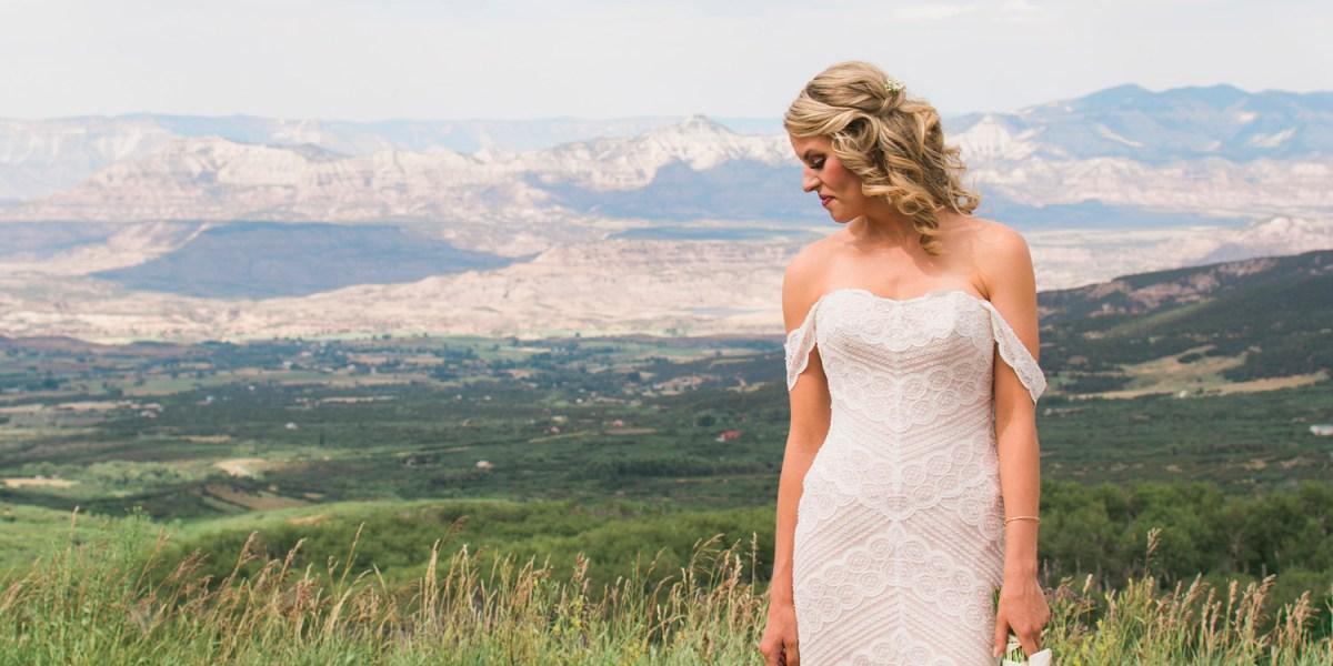 Summer wedding at Powderhorn Ski Resort, Grand Junction Colorado | amanda.matilda.photography