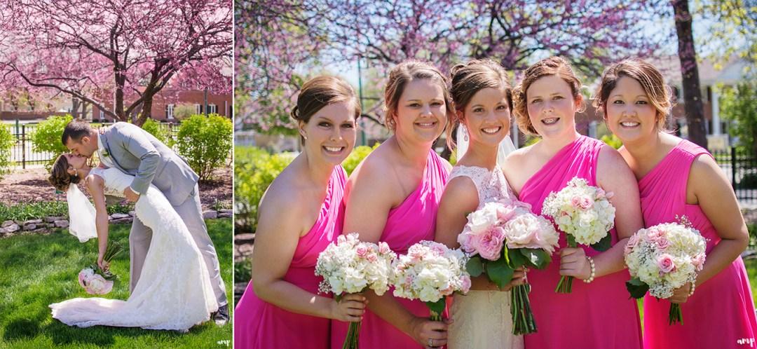 Spring Wedding in Fort Dodge | amanda.matilda.photography