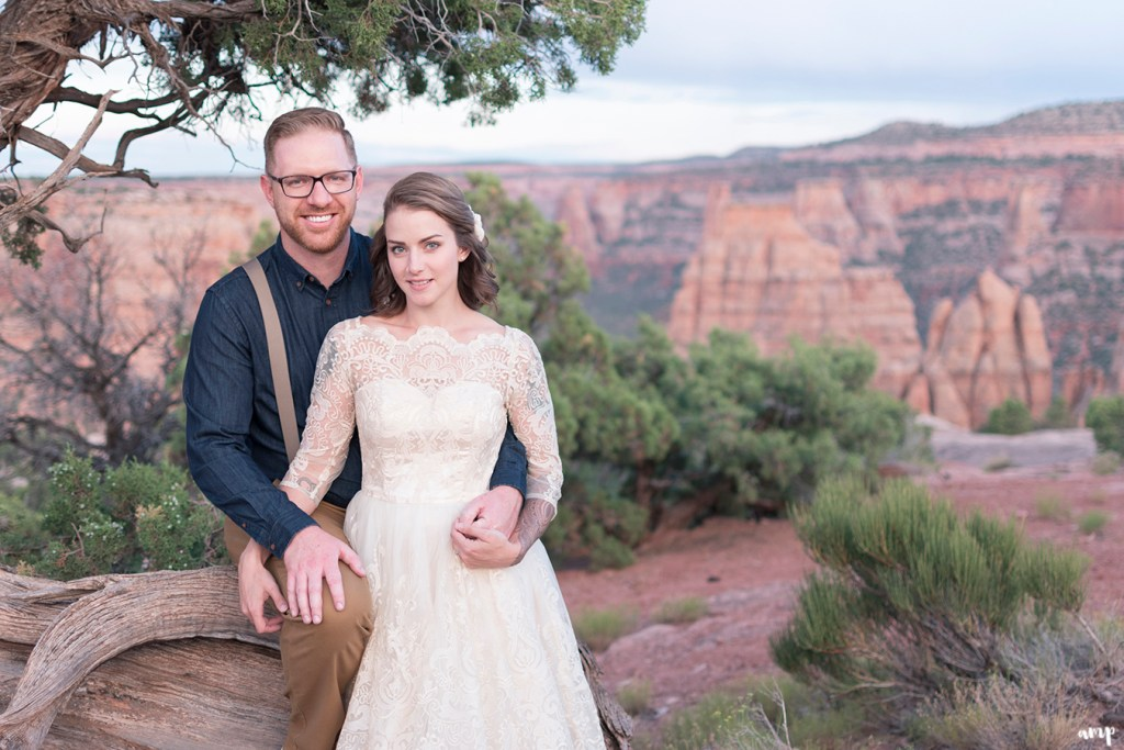 Elopement on the Colorado National Monument, Grand Junction CO | amanda.matilda.photography