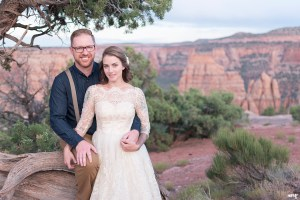 Elopement on the Colorado National Monument | Eloping in Colorado | amanda.matilda.photography