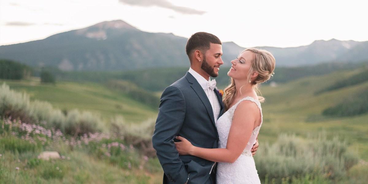 Crested Butte Mountain Wedding Garden in Summer