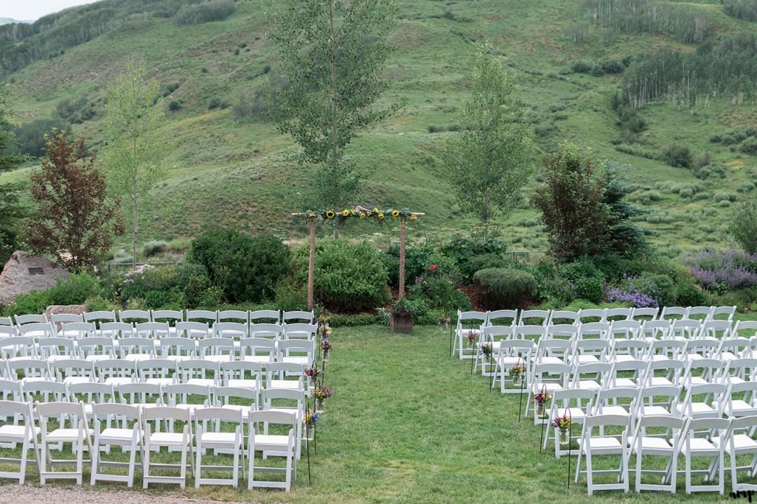 Crested Butte Mountain Wedding Garden summer wedding | amanda.matilda.photography
