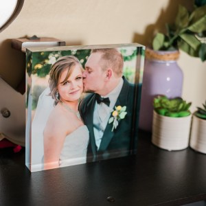 Acrylic Photo Block | amanda.matilda.photography - one of the Wedding Photographers in Grand Junction
