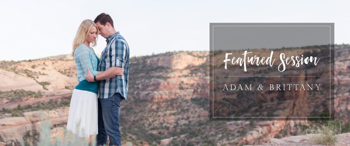Featured Engagement Session | Desert Engagement on the Colorado National Monument in Grand Junction by amanda.matilda.photography