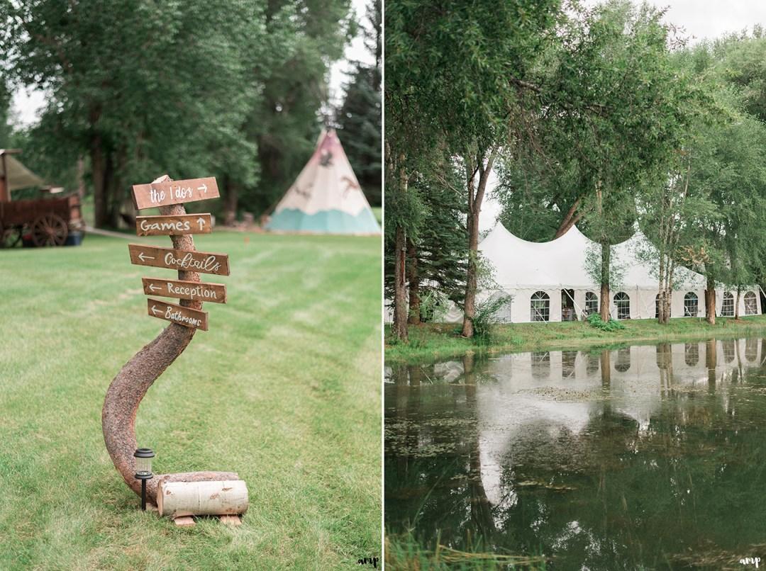 Rainy Gunnison Wedding along Ohio Creek | amanda.matilda.photography