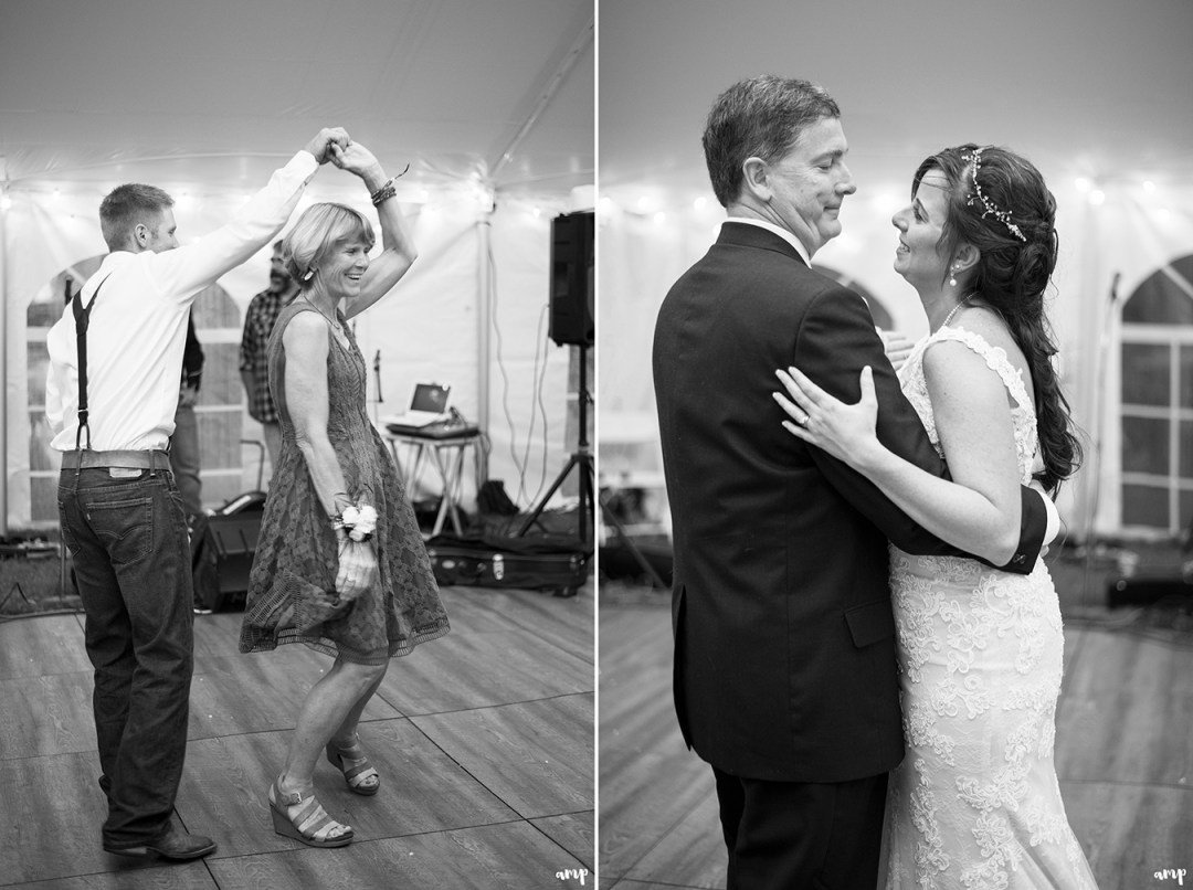 First dance with mother and father