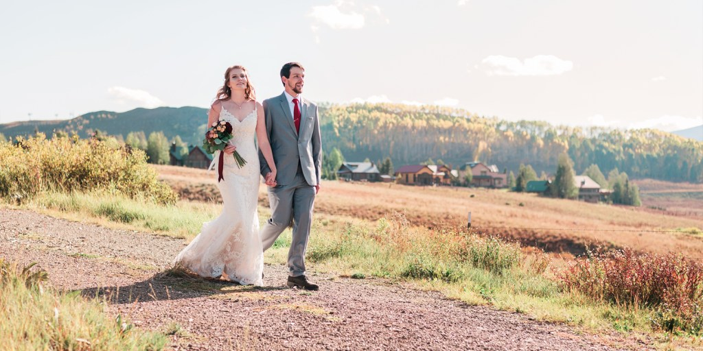 Fall Wedding in Crested Butte at the Mountain Wedding Garden | amanda.matilda.photography