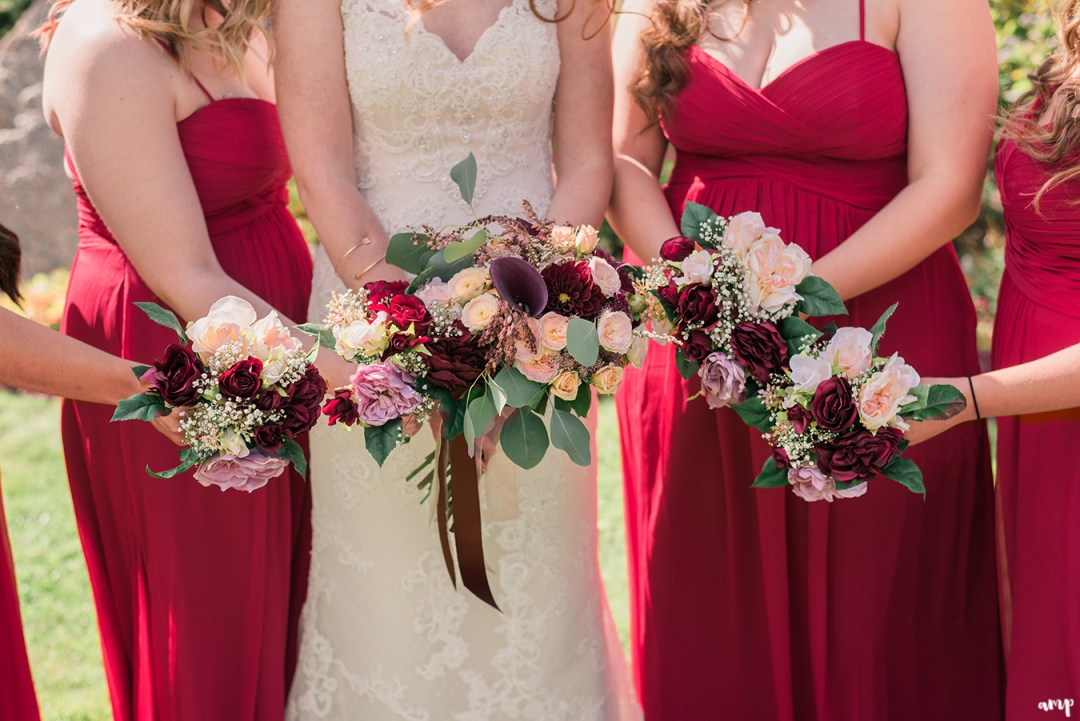 Fall bouquets for a Fall Wedding in Crested Butte at the Mountain Wedding Garden | amanda.matilda.photography