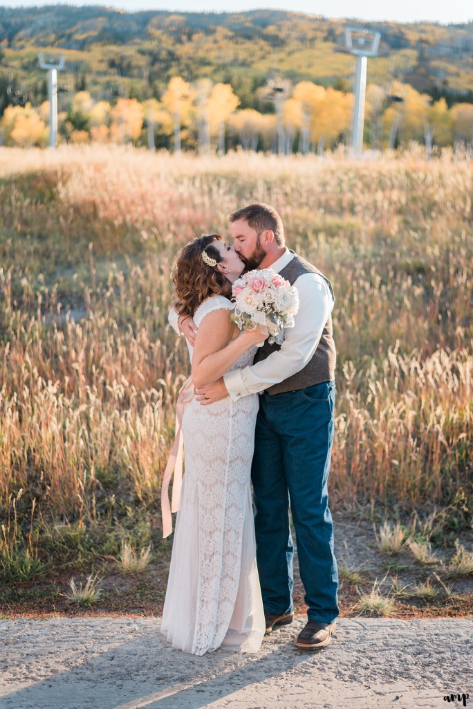 Fall Wedding at Powderhorn Ski Resort | amanda.matilda.photography