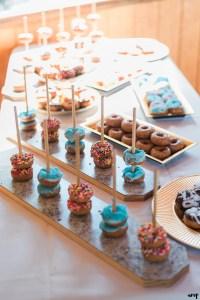 Wedding Reception Bar Inspiration | Donut Bar