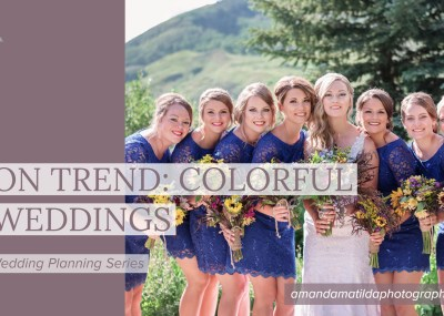 On Trend: Colorful Weddings