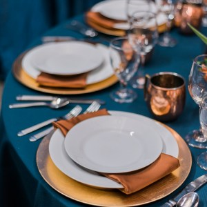 Tablescape with rentals from Elite Events | Grand Junction weddings | amanda.matilda.photography