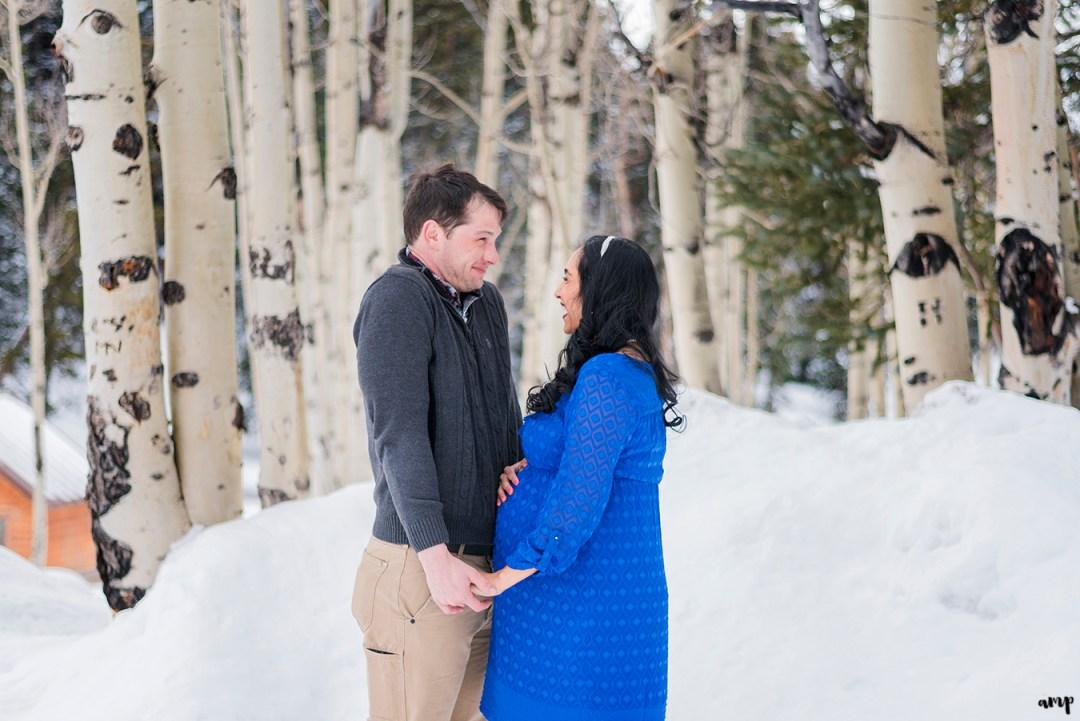 Grand Mesa maternity photos | amanda.matilda.photography