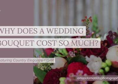 Why does a wedding bouquet cost so much? | Country Elegance Florist & amanda.matilda.photography