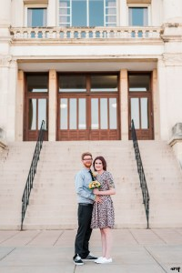 Ben & Courtnee's Wichita Courthouse Wedding | amanda.matilda.photography