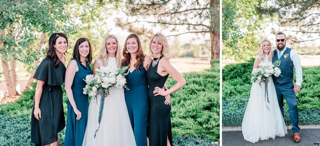 Beth + Dustin | Grand Junction Backyard Wedding | amanda.matilda.photography