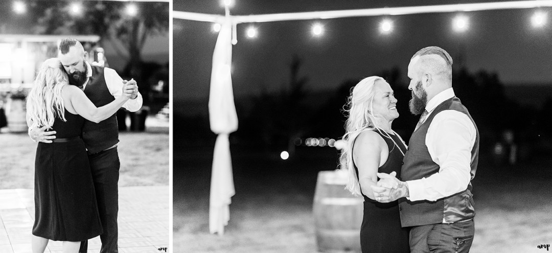 Mother-son First Dance | Grand Junction Backyard Wedding | amanda.matilda.photography