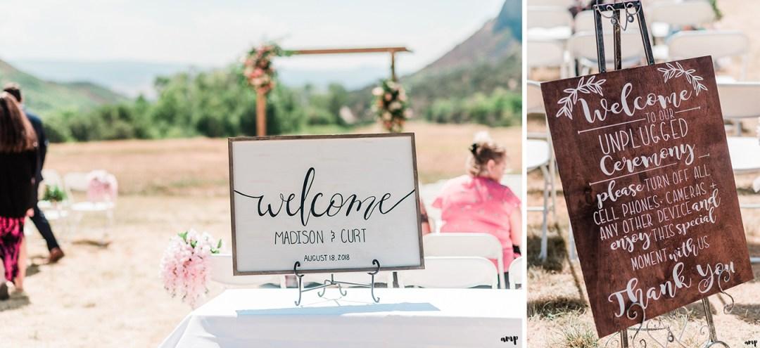 Curt & Madison's wedding at The Lodge at Needle Rock | amanda.matilda.photography