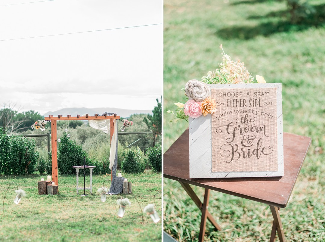 Emily & Victor's backyard wedding in Rifle | amanda.matilda.photography