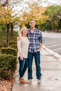 Brandon & Jennifer's fall engagement in downtown Grand Junction | amanda.matilda.photography