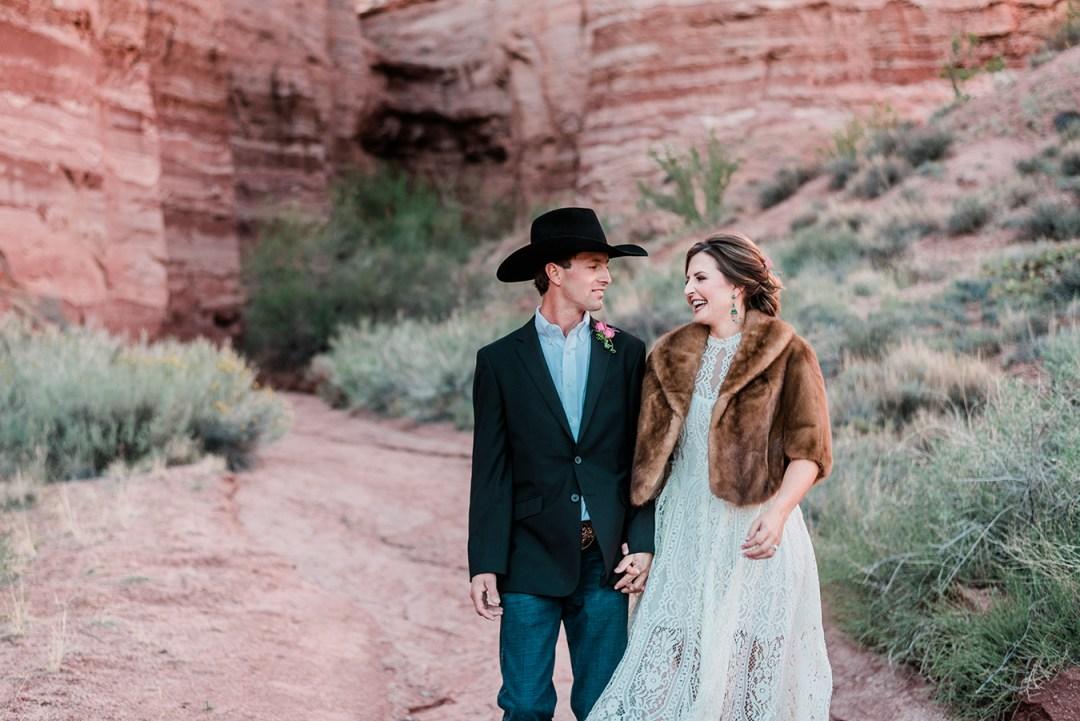 Tyler & Kirsten's Elopement at Gateway Canyons Resort
