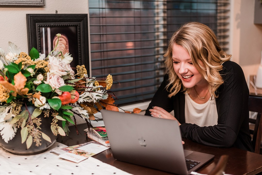 Abbie with Blossom Design's Business Branding Photos   Amanda Matilda Photography - Grand Junction Photographer