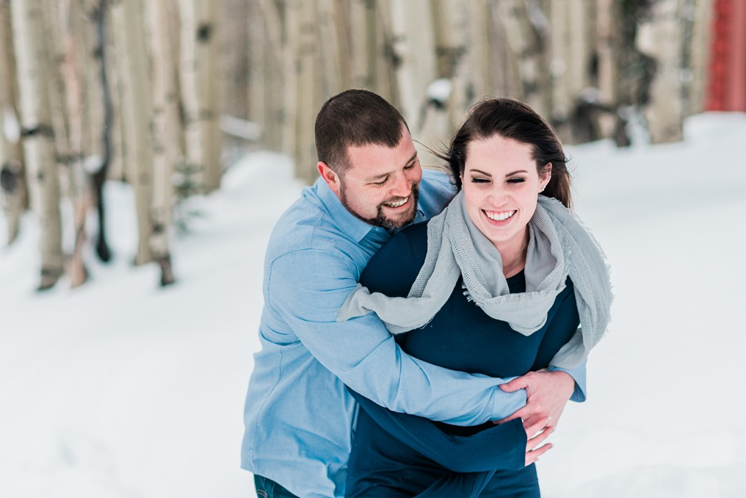 As we sat a the bar for a quick drink before their snowy engagement on the Grand Mesa, Adam and Monica recounted their proposal story to me.