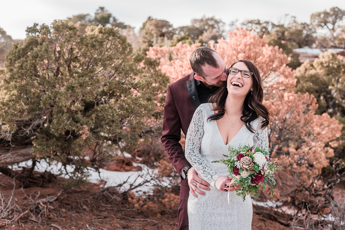 Winter Elopement on the Colorado National Monument