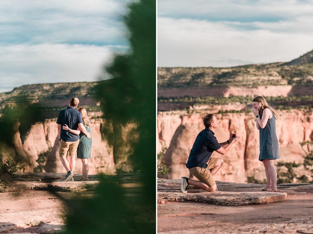 Daniel & Quinn | Surprise Proposal in Grand Junction