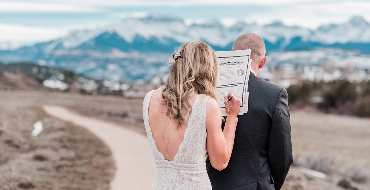 Elopement Photography - Eloping in Ouray, Colorado