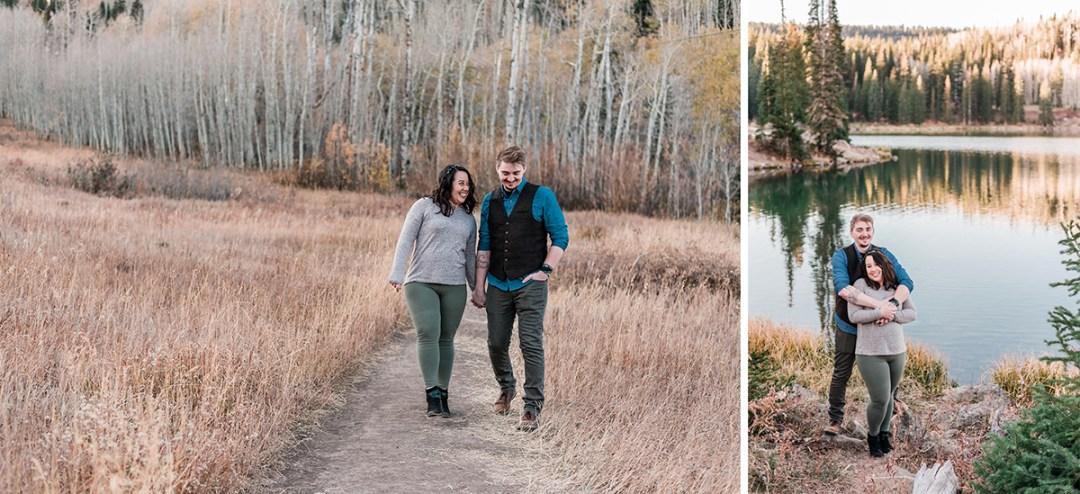 Michael & Stephanie | Sunrise Elopement on the Grand Mesa