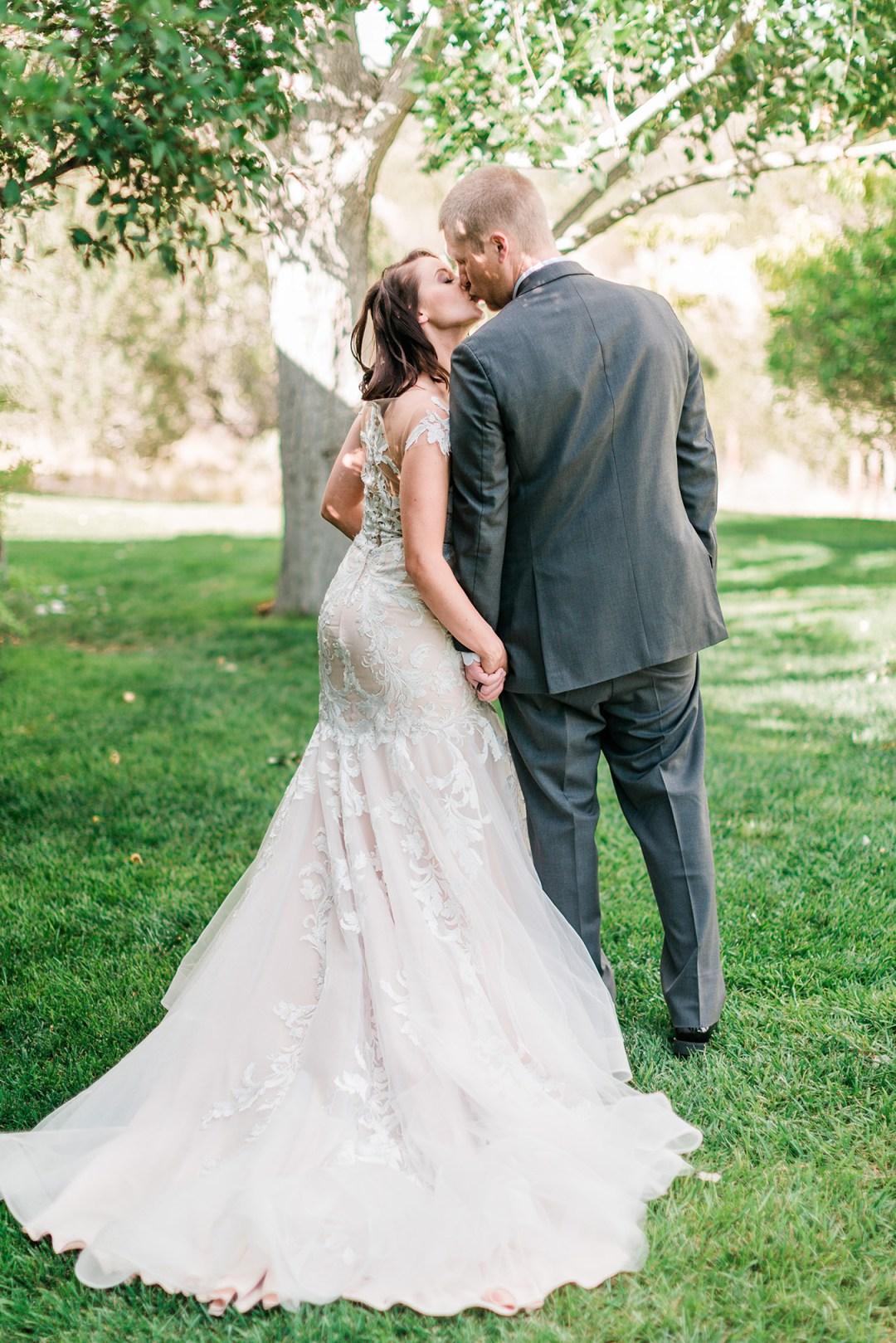David & Kristen | Hotchkiss VRBO Elopement