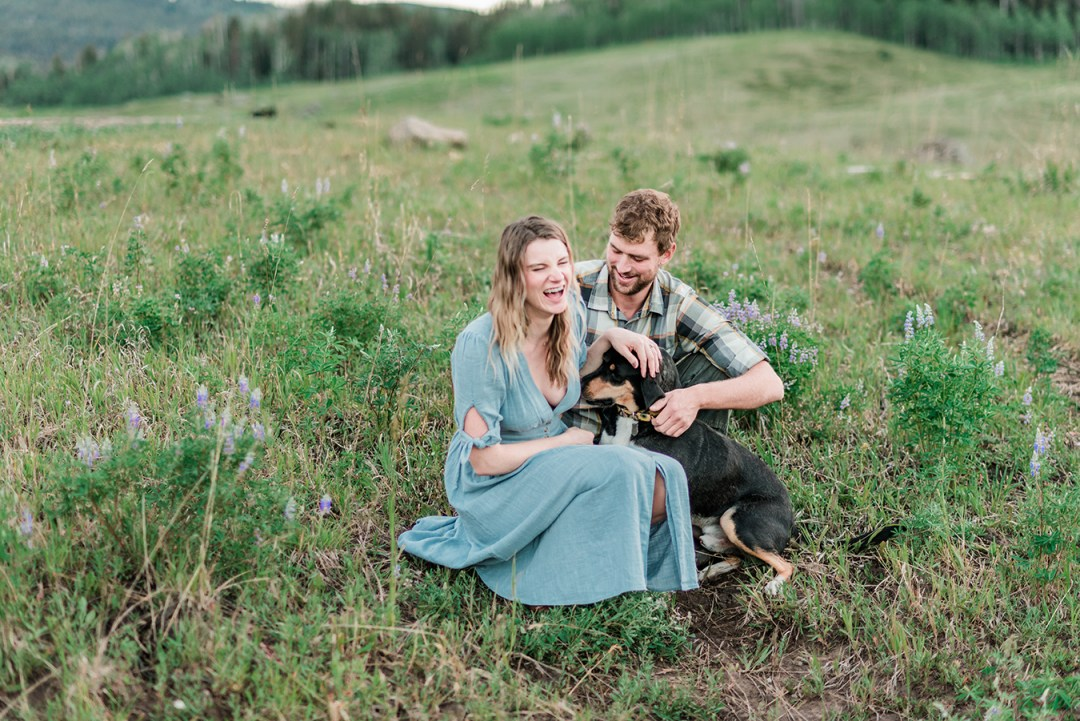 Annie & Taylor | Glenwood Springs Engagement Photos