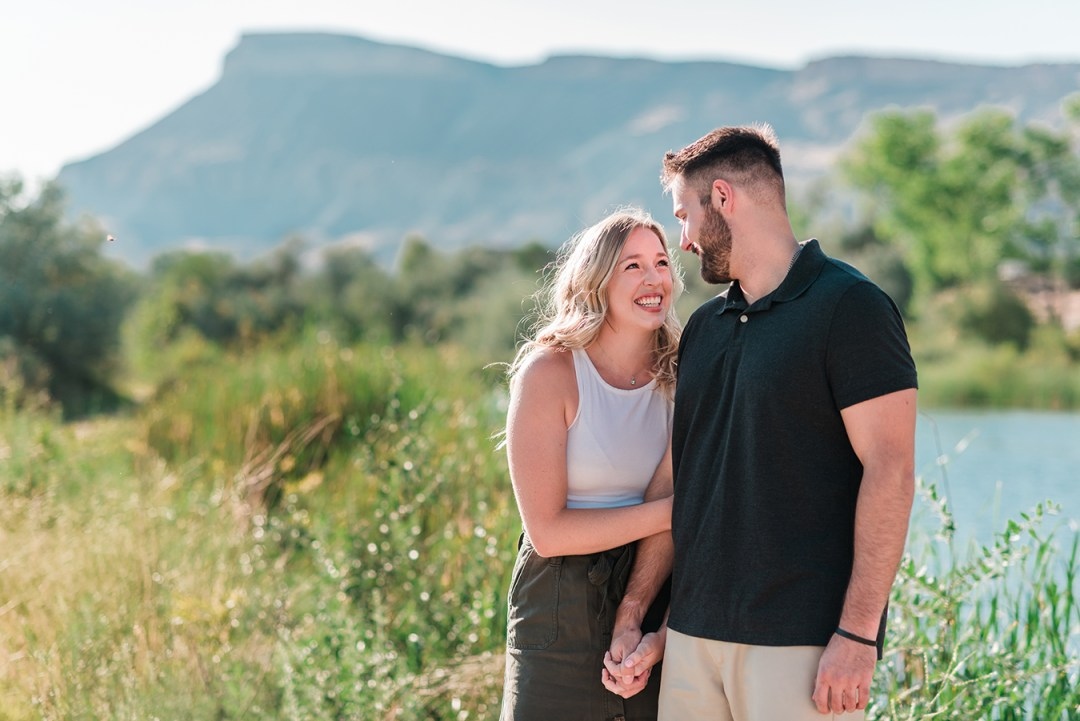 Mark & Mackenzie | Summer Engagement Photos in Palisade