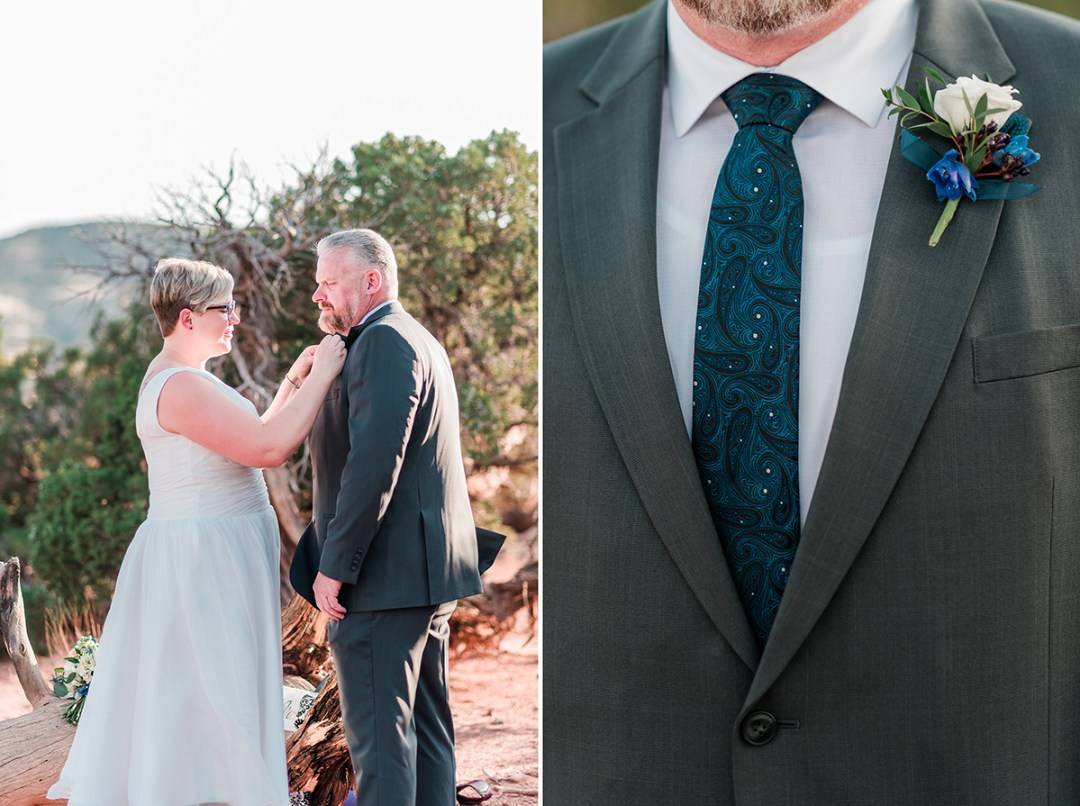 Elizabeth & Josh | Elopement on the Colorado National Monument