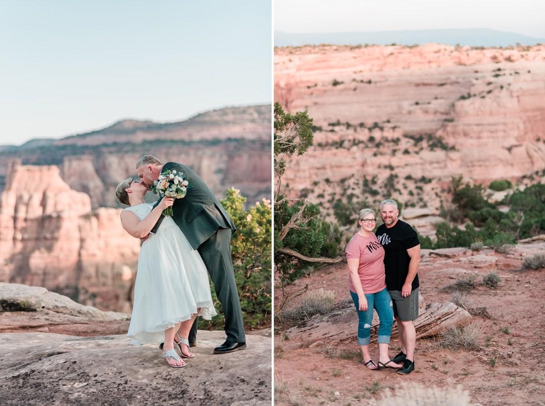 Elizabeth & Josh   Elopement on the Colorado National Monument