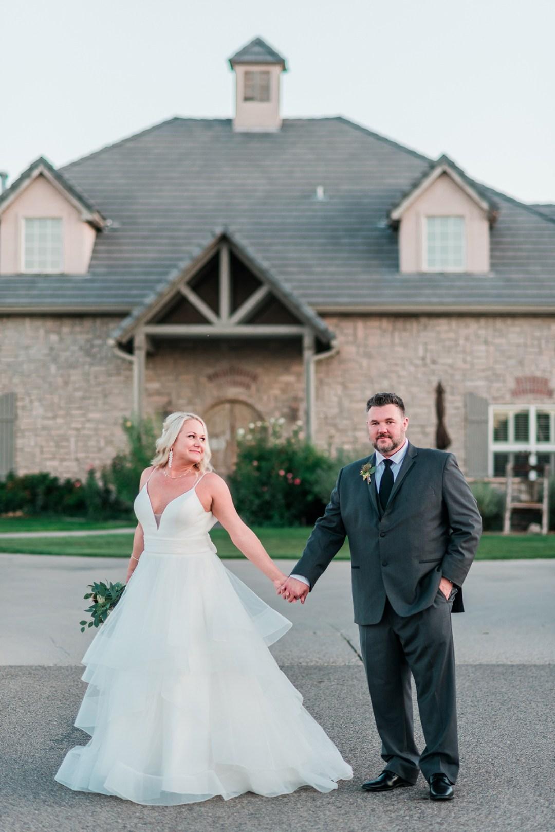 Julie & Derek | Wedding at Two Rivers Winery