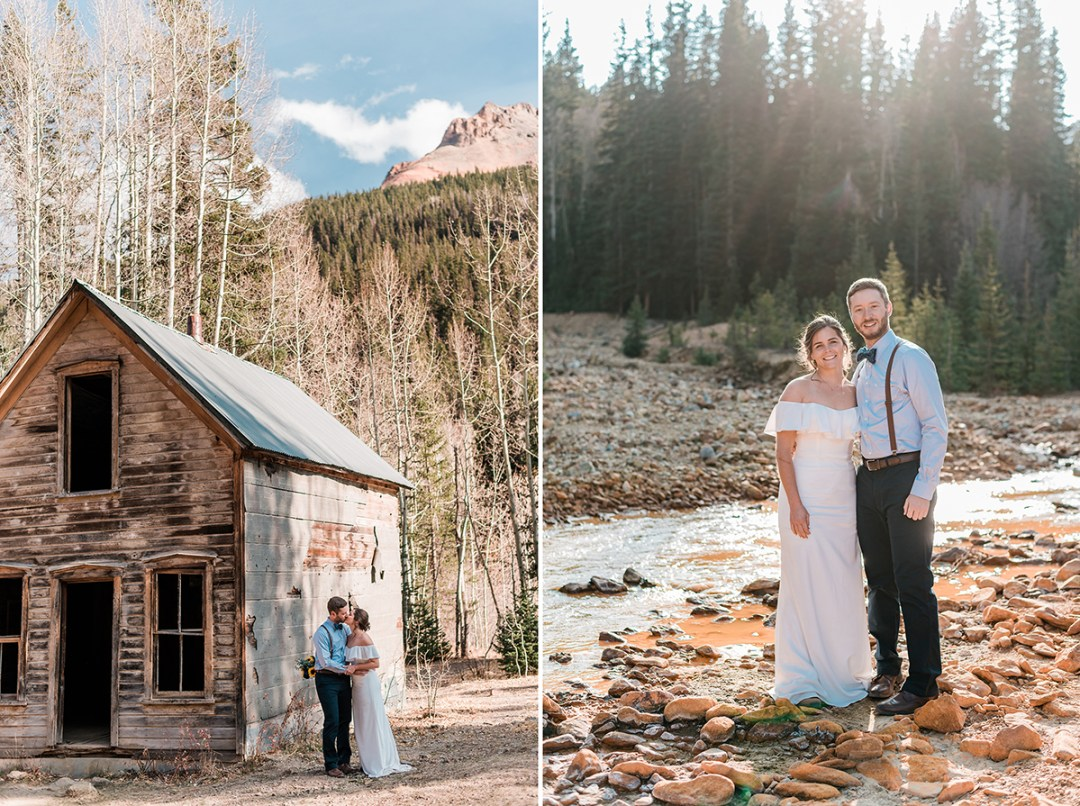 Blake & Emily | Ghost Town Elopement Adventure in Ouray