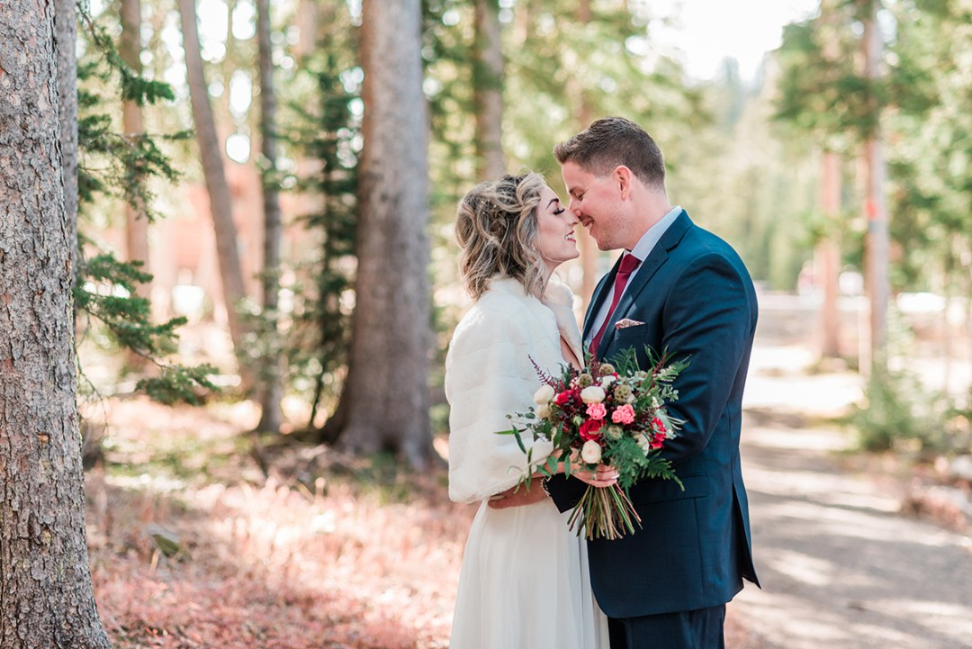 Melissa & Rory | Fall Elopement on the Grand Mesa
