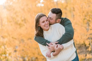 Hannah & Will | Fall Grand Mesa Engagement Photos